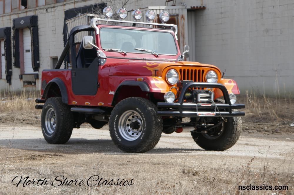 Used 1986 Jeep CJ -PRICE DROP!!! - CJ 7- RESTORED 4X4- 4-INCH SUSPENSION LIFT - | Mundelein, IL