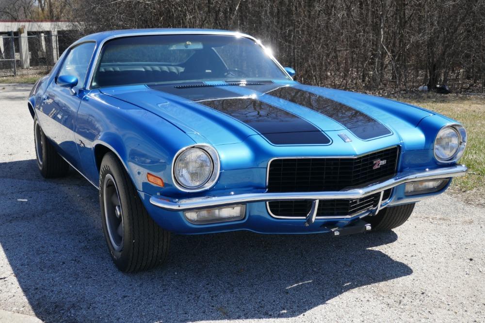 Used 1970 Chevrolet Camaro - CALIFORNIA- Z28 - MULSANNE BLUE- SEE VIDEO | Mundelein, IL