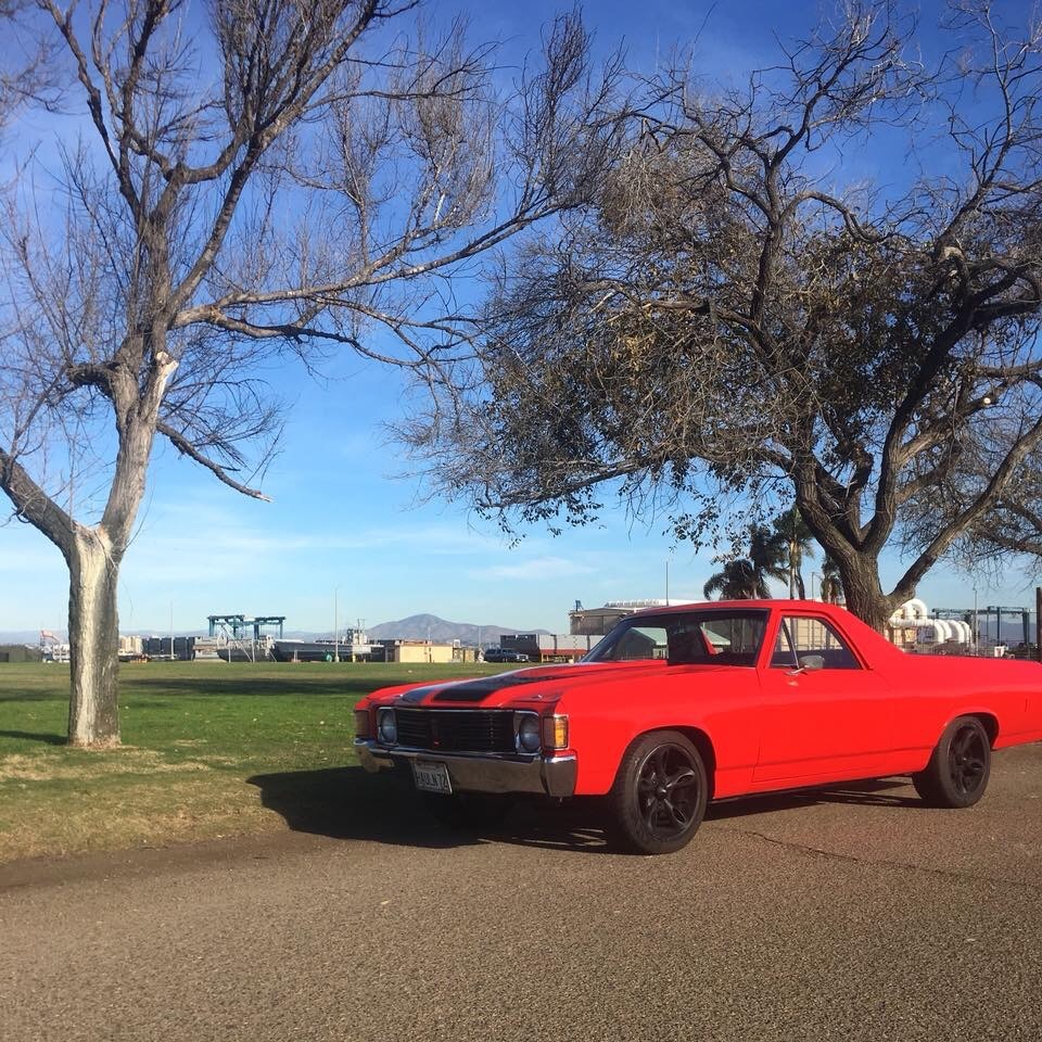 Used 1972 Chevrolet El Camino -VIPER RED PAINT-CALIFORNIA PICK UP- | Mundelein, IL