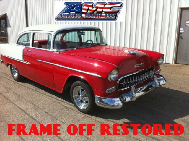 Used 1955 Chevrolet Bel air FRAME OFF RESTORED-150/210 | Mundelein, IL