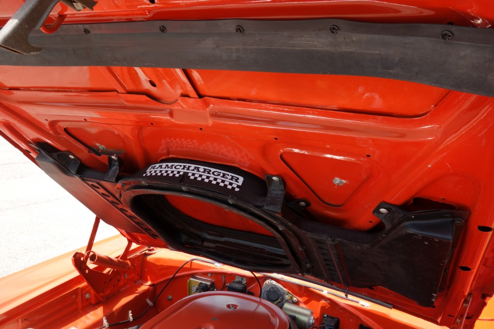 Used 1969 Dodge Super Bee -FACTORY H CODE RAMCHARGER-4 SPEED-NEW HEMI ORANGE PAINT- | Mundelein, IL