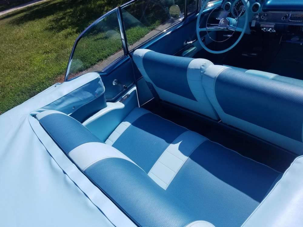 Used 1957 Chevrolet Bel Air - HARBOR BLUE -CONVERTIBLE - SEE VIDEO | Mundelein, IL