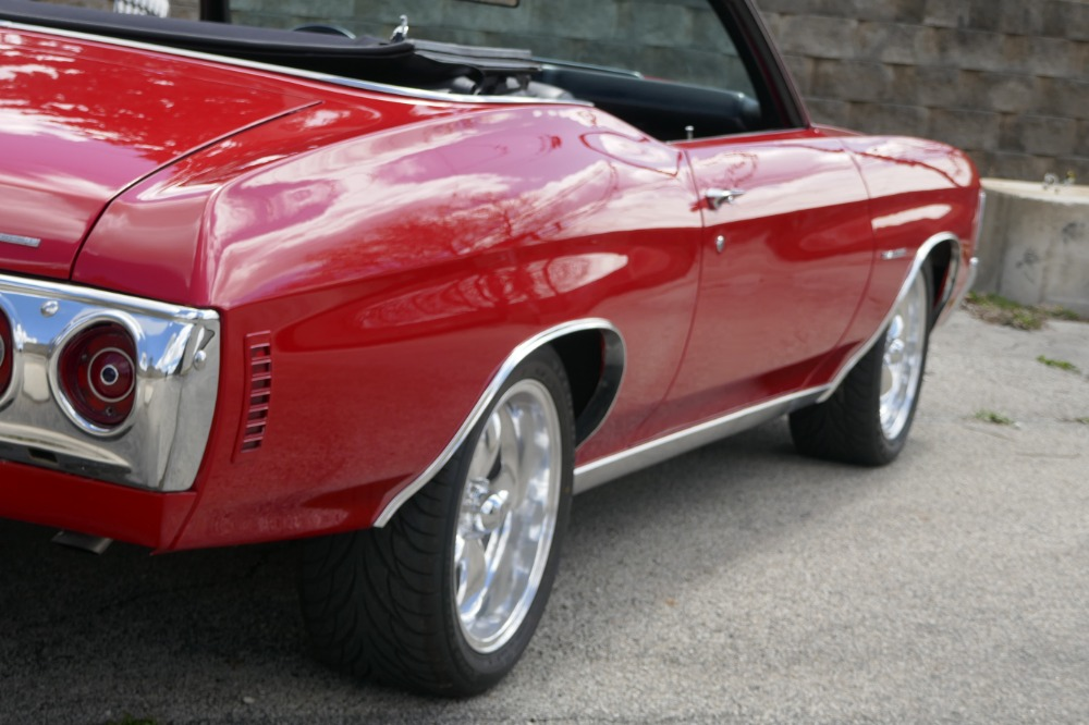Used 1972 Chevrolet Chevelle -FACTORY 72 CODE-RECENT FRAME UP RESTORATION-SOLID CONVERTIBLE- SEE VIDEO | Mundelein, IL