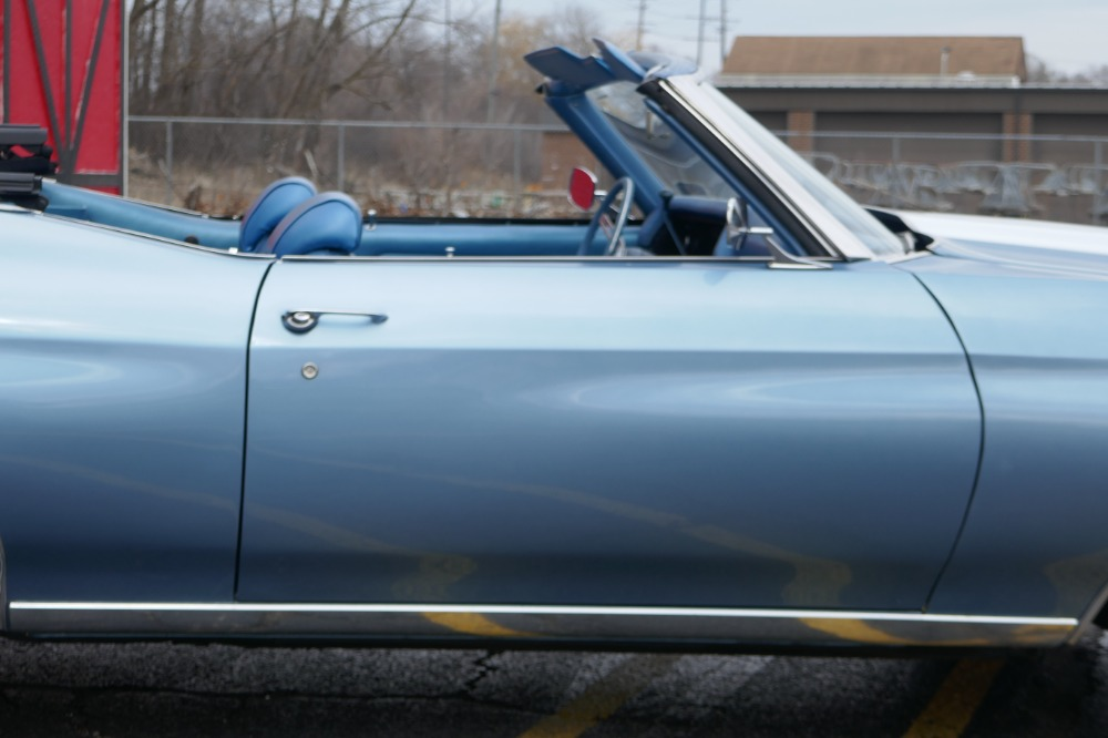 Used 1970 Chevrolet Chevelle -MALIBU- CLASSIC ASTRO BLUE CONVERTIBLE-350/AUTO-SEE VIDEO | Mundelein, IL