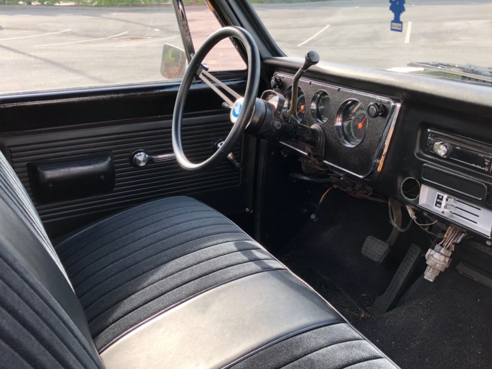 Used 1968 Chevrolet Pickup C10-ALABAMA  SHORT BED PICK UP-BLACK ON BLACK- | Mundelein, IL