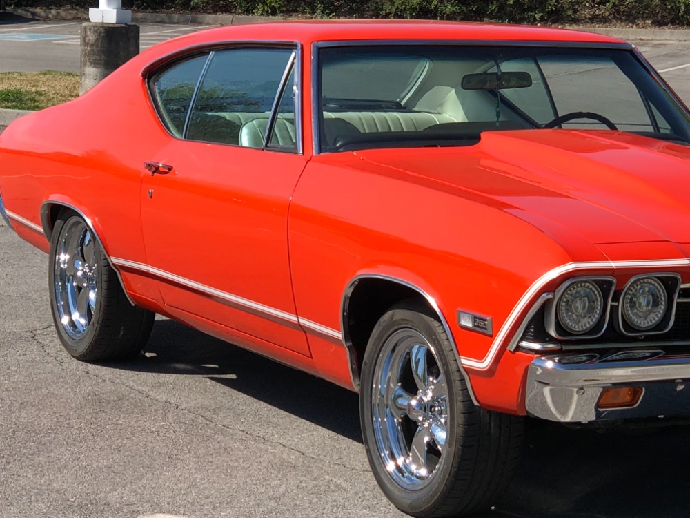 Used 1968 Chevrolet Chevelle -NEW HUGGER ORANGE PAINT-RUST FREE ALABAMA MUSCLE CAR - SEE VIDEO | Mundelein, IL