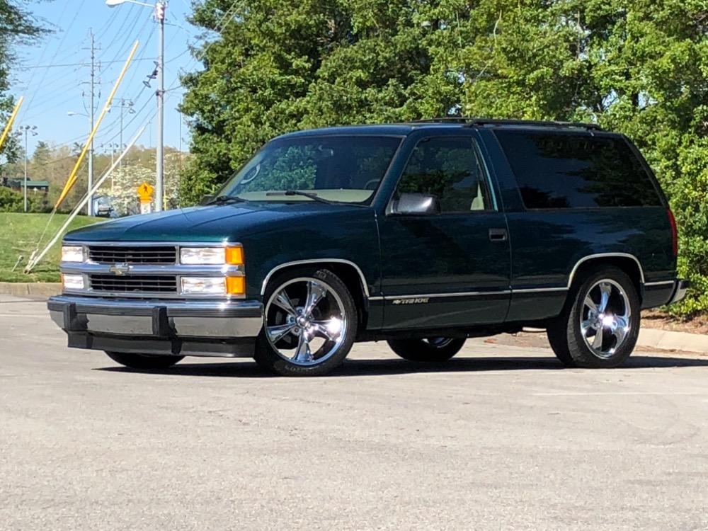 1998 Chevrolet Tahoe Slammed Rare 2 Door Truck Rust Free From
