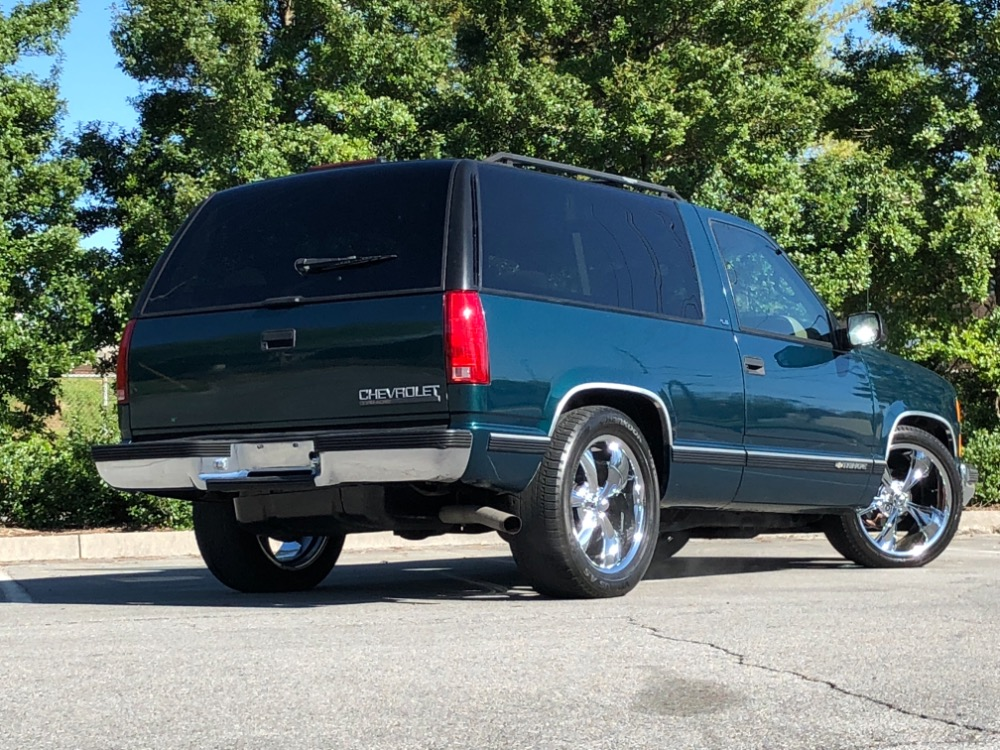 Used 1998 Chevrolet Tahoe -SLAMMED RARE 2 DOOR TRUCK-RUST FREE FROM TENNESSEE | Mundelein, IL