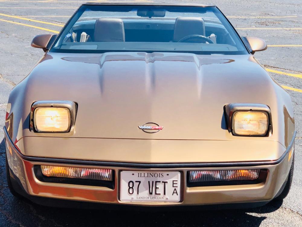 Used 1987 Chevrolet Corvette -Convertible 40,000 Original Miles-Garage Kept- Rare color Combo- SEE VIDEO | Mundelein, IL