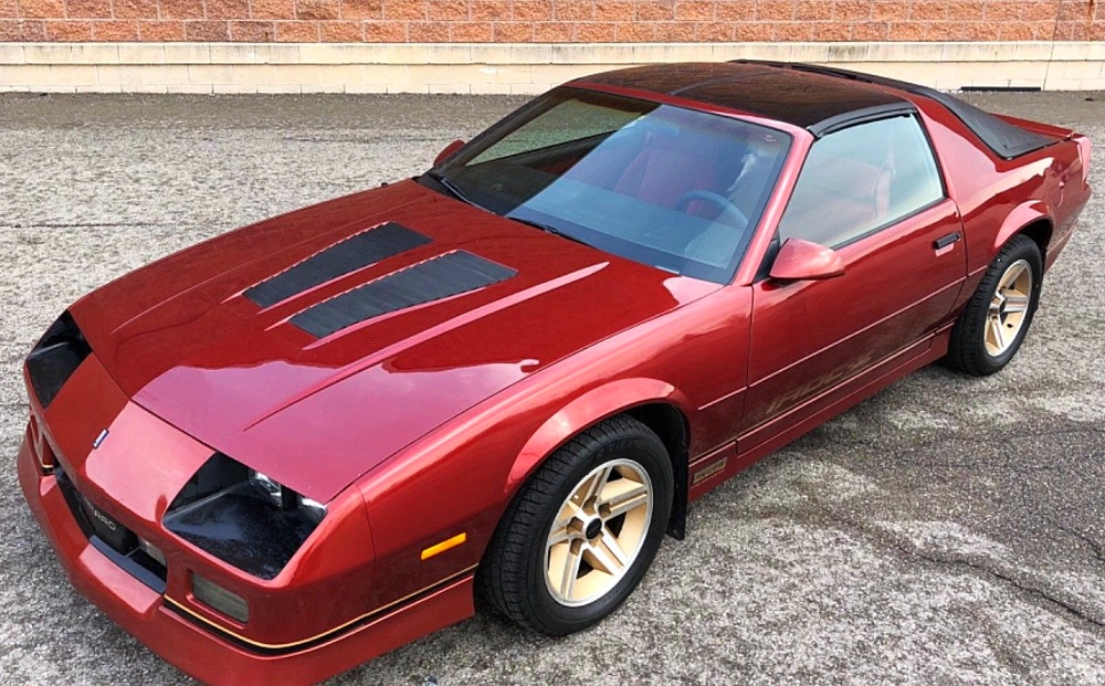 Used 1986 Chevrolet Camaro -IROC Z/28-1 OWNER-Only 34,569 ORIGINAL MILES-T-TOPS- SEE VIDEO | Mundelein, IL