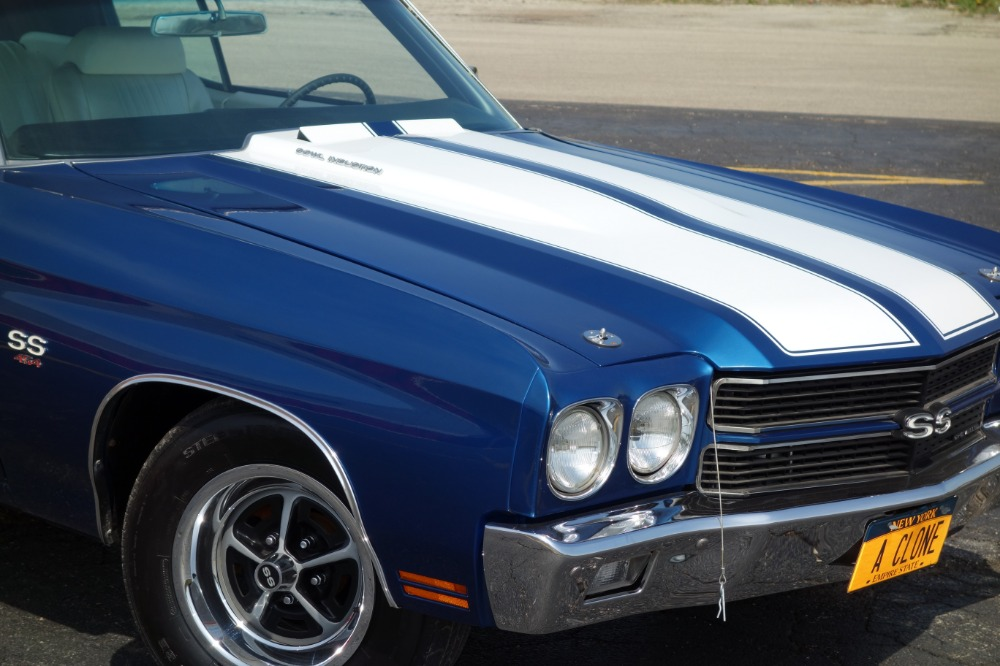 1970 Chevrolet Chevelle New Build Only 420 Miles Fathom Blue New Ss