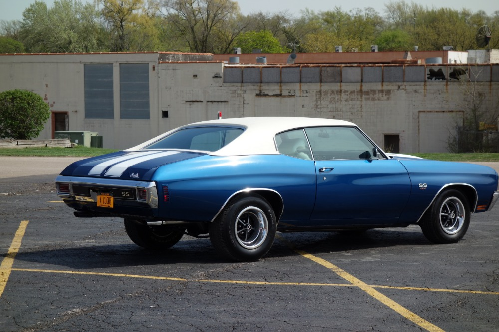 Used 1970 Chevrolet Chevelle -NEW BUILD ONLY 420 MILES-FATHOM BLUE-NEW SS RECREATION- SEE VIDEO | Mundelein, IL