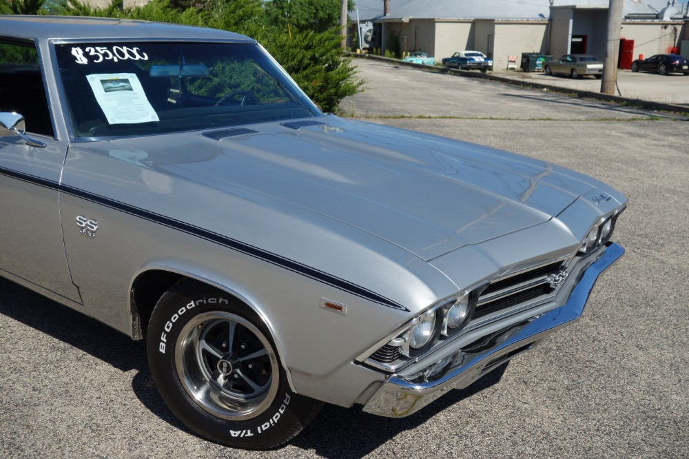 Used 1969 Chevrolet Chevelle REAL SS396-REAL L CODE-FACTORY CODE 69-CORTEZ SILVER- 4 SPEED - SEE VIDEO | Mundelein, IL