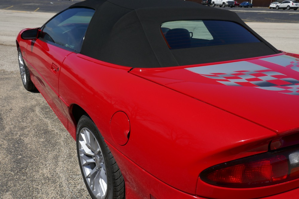Used 2002 Chevrolet Camaro -ONLY 3000 MILES-SS CONVERTIBLE- 35TH ANNIVERSARY - LS1 345 HP - SEE VIDEO | Mundelein, IL