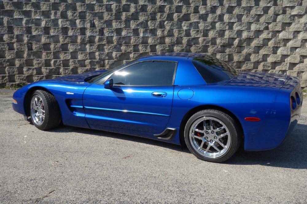Used 2003 Chevrolet Corvette -Z06-LS6/ 6 Speed - Electron Blue Metallic- Wow! SEE VIDEO | Mundelein, IL