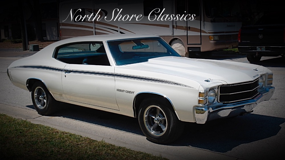Used 1971 Chevrolet Chevelle -HEAVY CHEVY-CLEAN RUST FREE-GREAT DRIVER- SEE VIDEO | Mundelein, IL