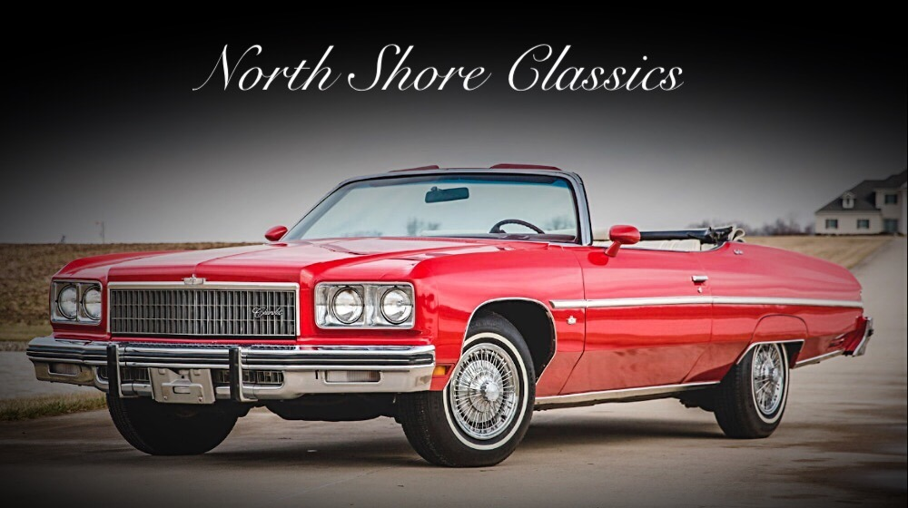 Used 1975 Chevrolet Caprice Classic -CLEARANCE PRICE-CONVERTIBLE-1 OF 8349-PS PB PW PT LOADED-VIDEO | Mundelein, IL