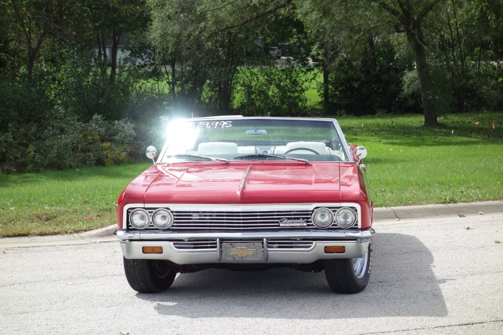 Used 1966 Chevrolet Impala -CLEARANCE PRICE-SS-CONVERTIBLE-BIG BLOCK 454-FACTORY AC-SEE VIDEO | Mundelein, IL
