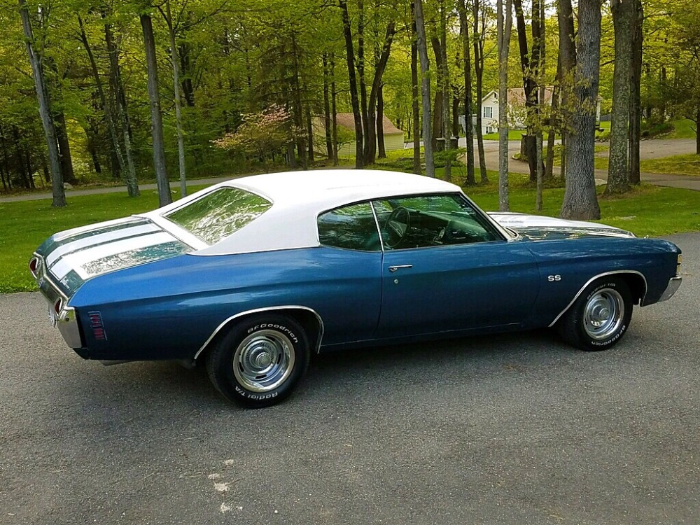 Used 1971 Chevrolet Chevelle -FATHOM BLUE-NICE RELIABLE DRIVER QUALITY MUSCLE CAR- | Mundelein, IL