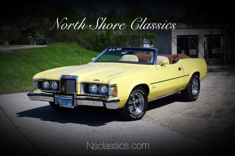 Used 1973 Mercury Cougar -XR7- CONVERTIBLE-PRICE DROP- SUMMER CRUISER- SEE VIDEO | Mundelein, IL