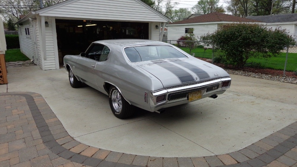 Used 1970 Chevrolet Chevelle -CORTEZ SILVER- BIG BLOCK 396/AUTOMATIC 12 BOLT REAR END MUSCLE CAR- | Mundelein, IL