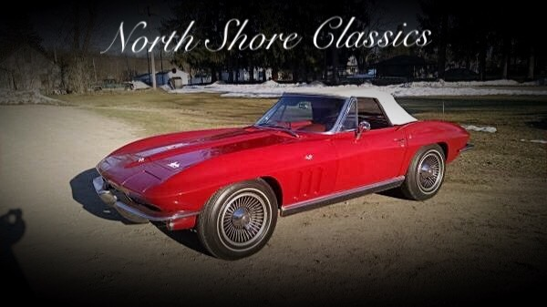 Used 1966 Chevrolet Corvette -STINGRAY- NUMBERS MATCHING-SUMMER FUN-WITH THE TOP DOWN- | Mundelein, IL
