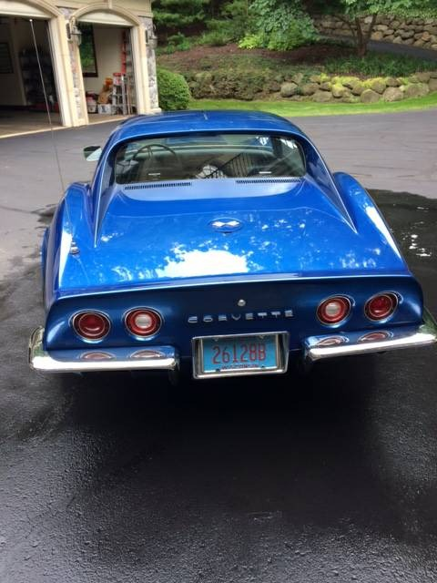 Used 1972 Chevrolet Corvette -SIDE PIPES-BIG BLOCK 454 BLUE METALLIC-FUN AND FAST- | Mundelein, IL