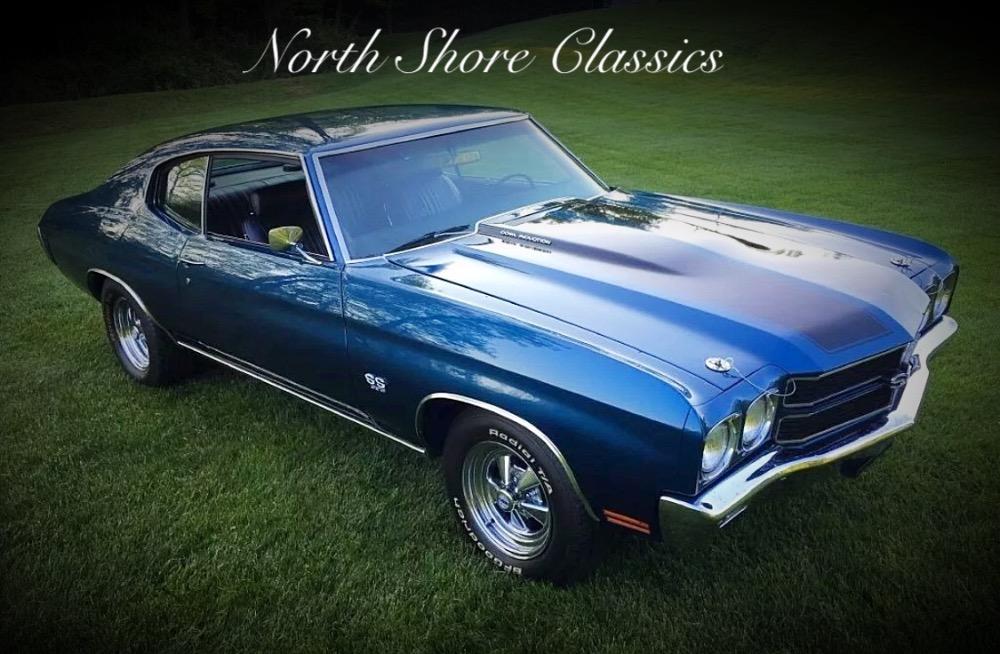 Used 1970 Chevrolet Chevelle -FATHOM BLUE RESTORED CONDITION SS | Mundelein, IL