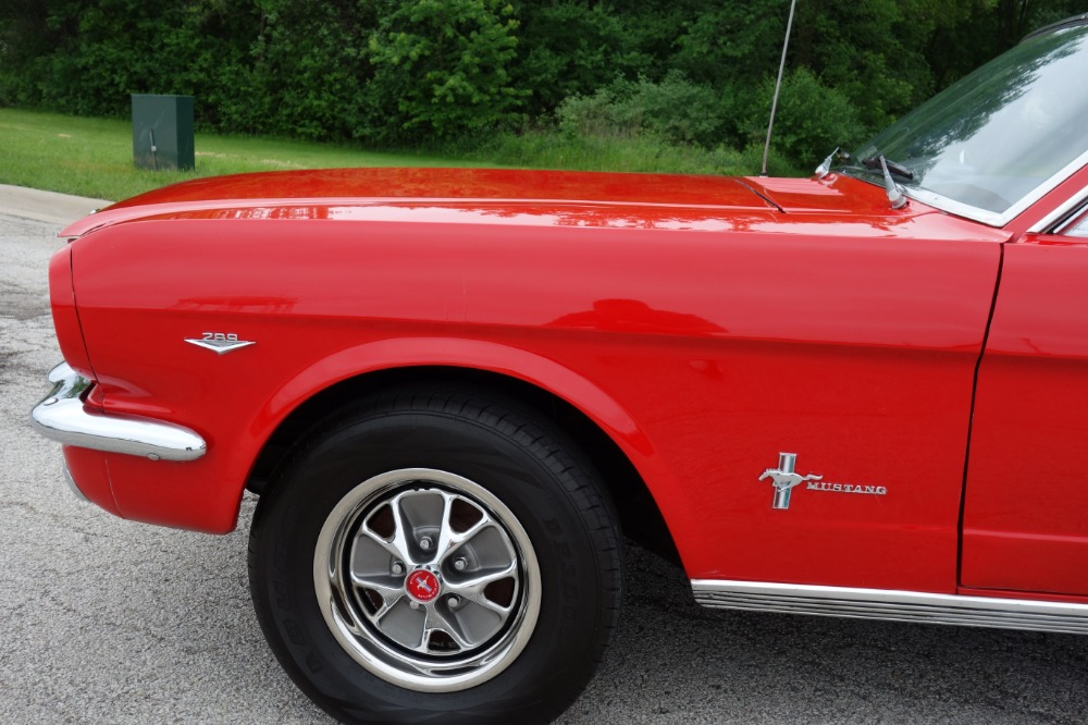 Used 1966 Ford Mustang -NICE RED 289 V8 CAR-FUN PONY CAR- SEE VIDEO | Mundelein, IL