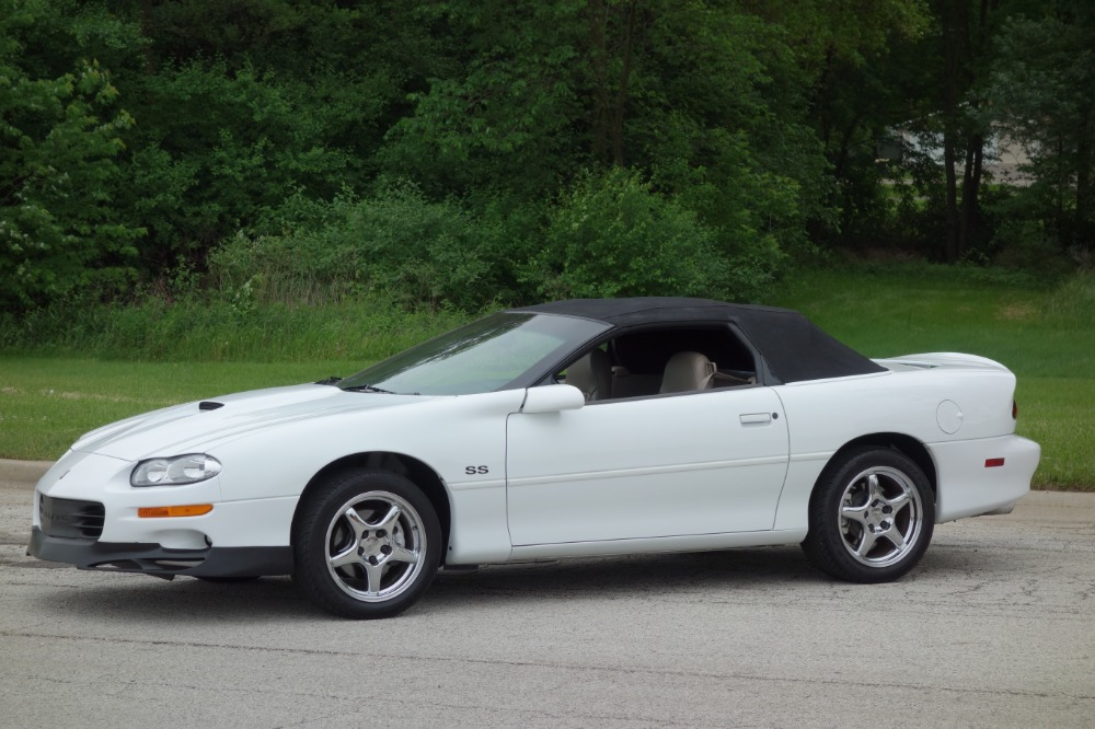 Used 2000 Chevrolet Camaro -SS CONVERTIBLE-WITH ONLY 5900 ORIGINAL MILES- SEE VIDEO | Mundelein, IL