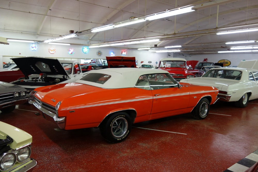 Used 1969 Chevrolet Chevelle -HUGGER ORANGE CONVERTIBLE -RELIABLE/SOLID/CLEAN FUN MUSCLE CAR- SEE VIDEO | Mundelein, IL