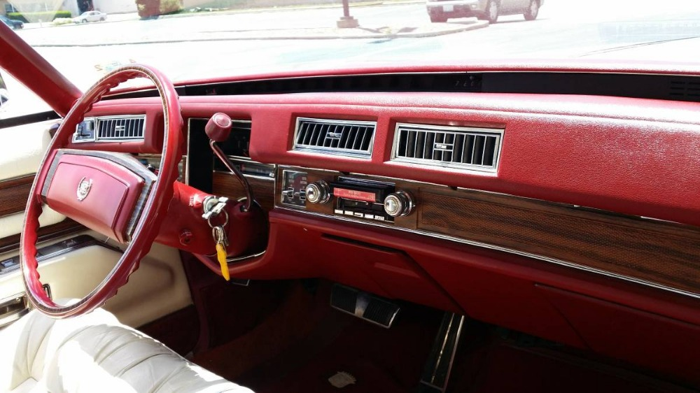 Used 1978 Cadillac Eldorado -BIARRITZ EDITION-Cruise Like A Boss-NEW PAINT-Awesome red leather Interior | Mundelein, IL