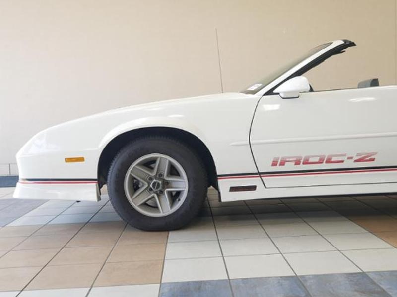 Used 1988 Chevrolet Camaro IROC -1 OWNER Z/28-FACTORY IROC CONVERTIBLE-ONLY 31,615 ORIGINAL MILES- | Mundelein, IL