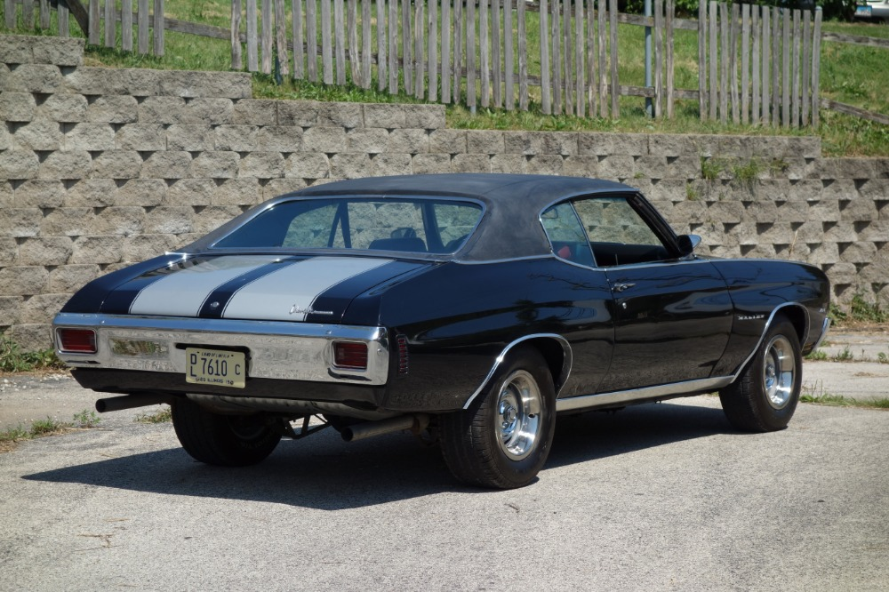 Used 1970 Chevrolet Chevelle - BLACK AND CORTEZ SILVER SS STRIPES-BIG BLOCK 454 BEAST! - SEE VIDEO   Mundelein, IL