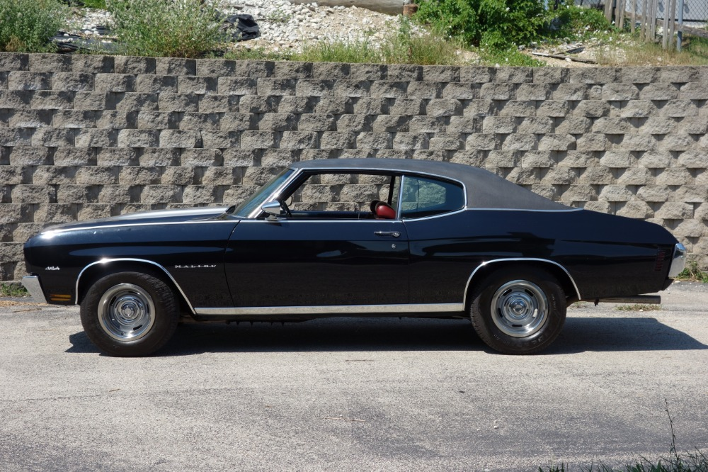Used 1970 Chevrolet Chevelle - BLACK AND CORTEZ SILVER SS STRIPES-BIG BLOCK 454 BEAST! - SEE VIDEO | Mundelein, IL