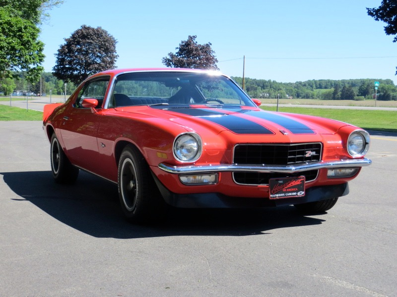 Used 1973 Chevrolet Camaro - Z28- NUMBERS MATCHING - 4 SPEED - RED ON BLACK - | Mundelein, IL