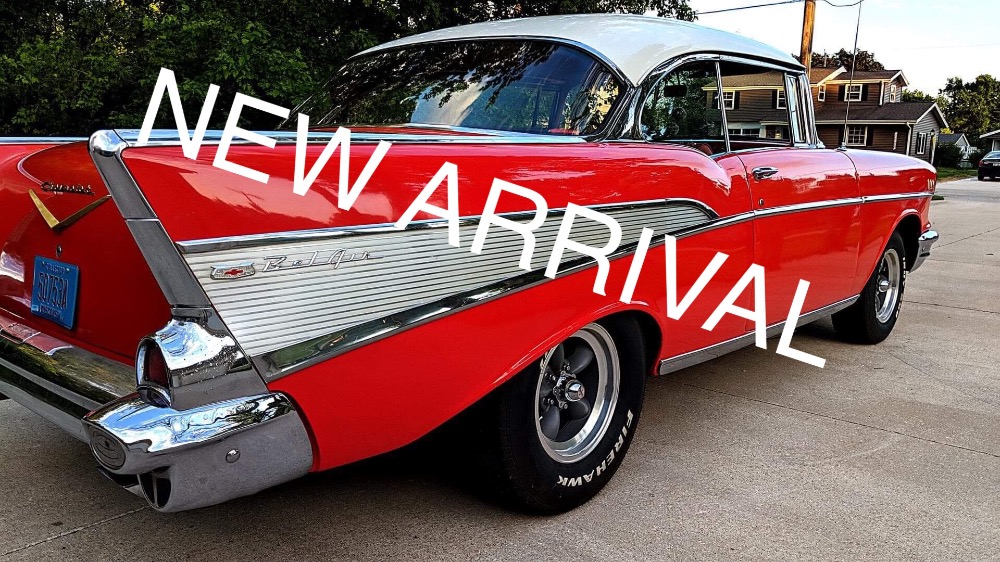 Used 1957 Chevrolet Bel Air -RESTORED HARDTOP/ICONIC AMERICAN CLASSIC-   Mundelein, IL