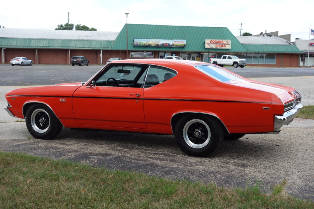 Used 1969 Chevrolet Chevelle -HUGGER ORANGE-BIG BLOCK SOLID AND FAST - SEE VIDEO | Mundelein, IL