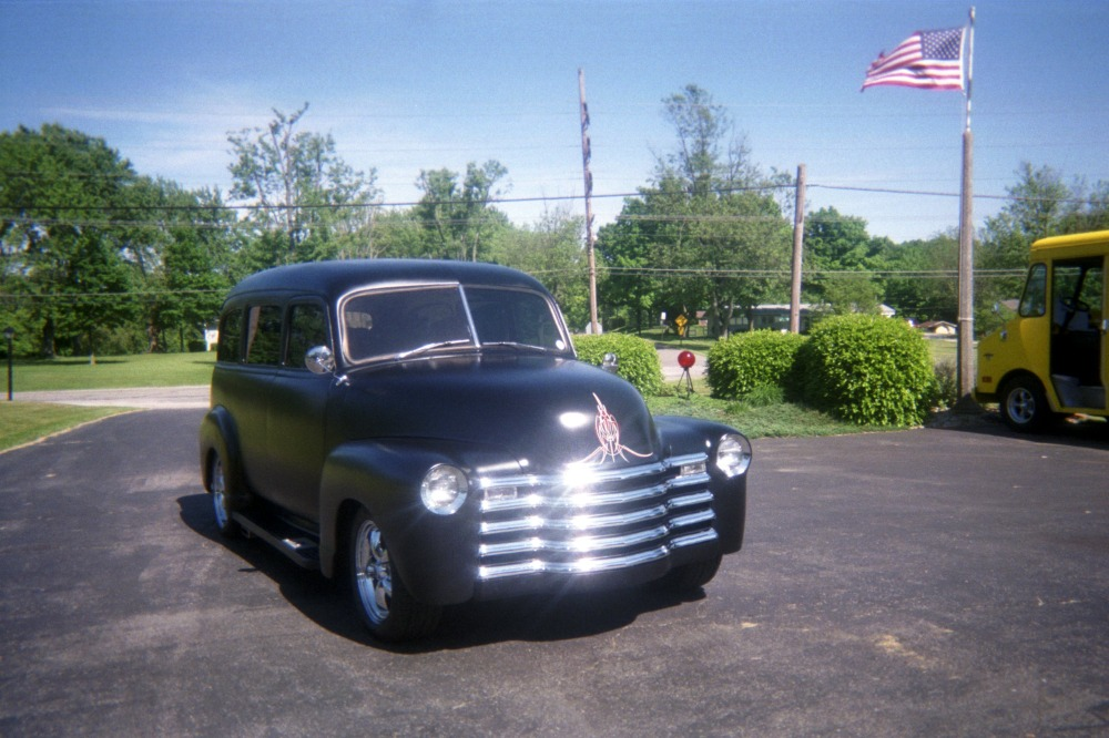 Used 1948 Chevrolet Suburban -SATIN BLACK -  VINTAGE HEAT AND A/C | Mundelein, IL
