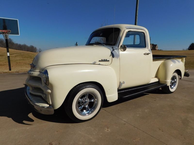 Used 1955 Chevrolet Pickup -3100- EARLY FIRST SERIES PICK UP TRUCK- JUST PAINTED BLONDE SATIN- | Mundelein, IL