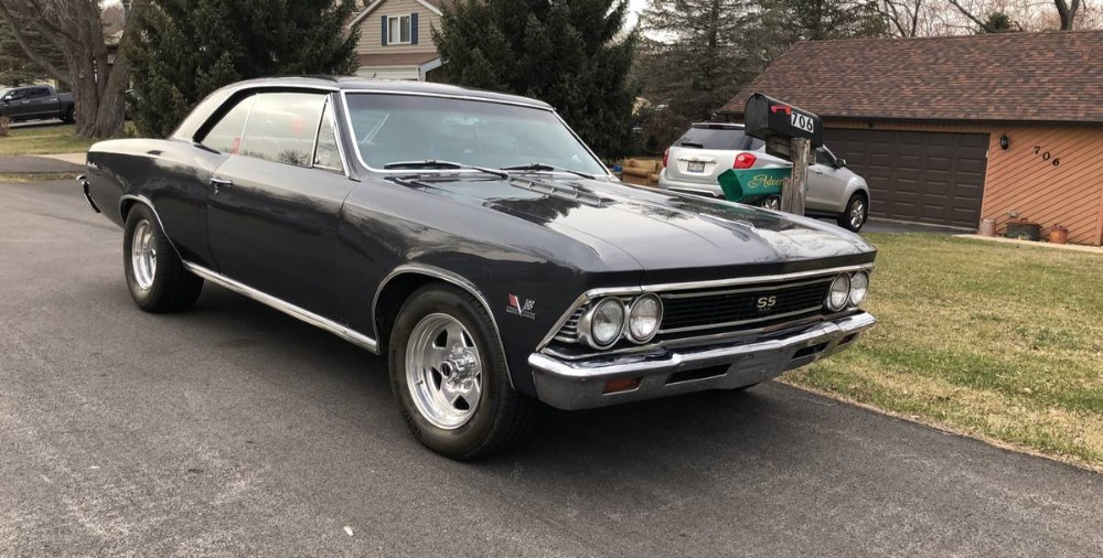 Used 1966 Chevrolet Chevelle -Black Beauty Real 138 Vin- | Mundelein, IL