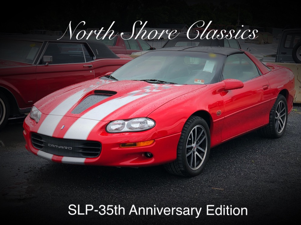 Used 2002 Chevrolet Camaro -SS 35th Anniversary SLP Edition-Low Miles-Reduced Price-Easy Financing-   Mundelein, IL