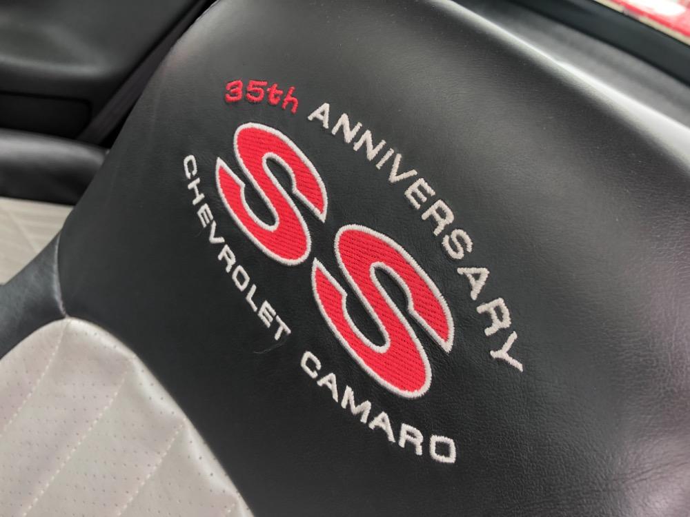 2002 Chevrolet Camaro Ss 35th Anniversary Slp Edition Low