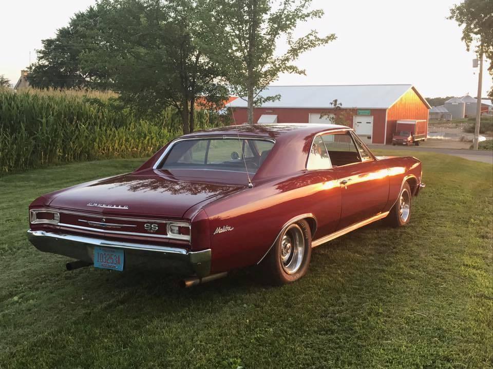 Used 1966 Chevrolet Chevelle -MALIBU SS-CRUISE N STYLE | Mundelein, IL