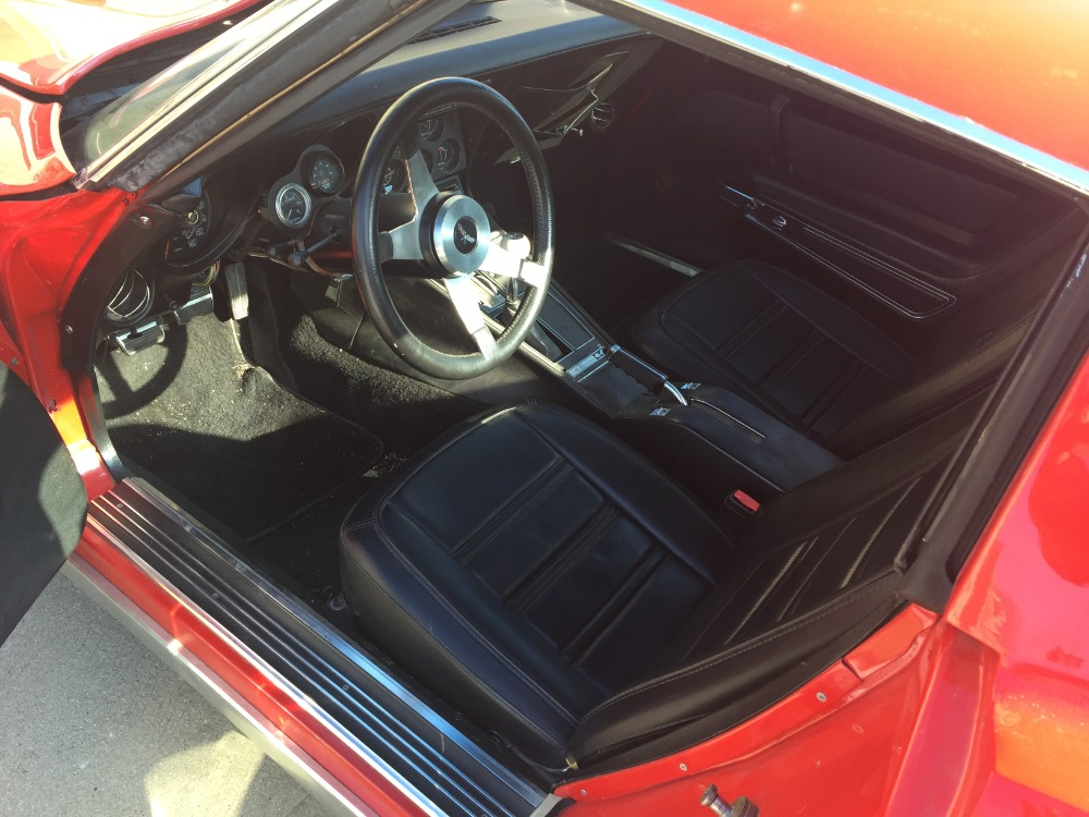 Used 1975 Chevrolet Corvette -THIS LITTLE RED VETTE SCREAMS POWER-BIG BLOCK 454 | Mundelein, IL