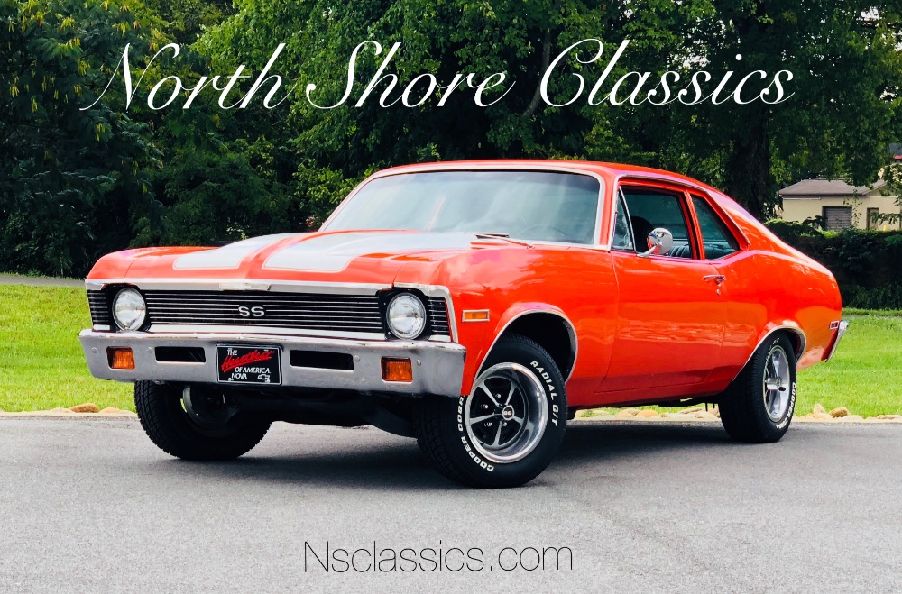 Used 1972 Chevrolet Nova -REAL SS NOVA WITH K CODE VIN-FACTORY TACH-SEE VIDEO | Mundelein, IL
