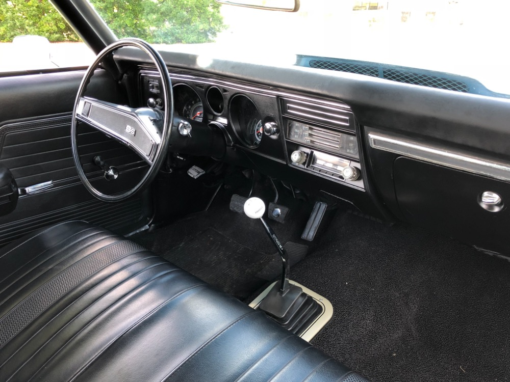 Used 1969 Chevrolet Chevelle -SS396 Hurst 4 Speed-Factory Tach-VIDEO | Mundelein, IL