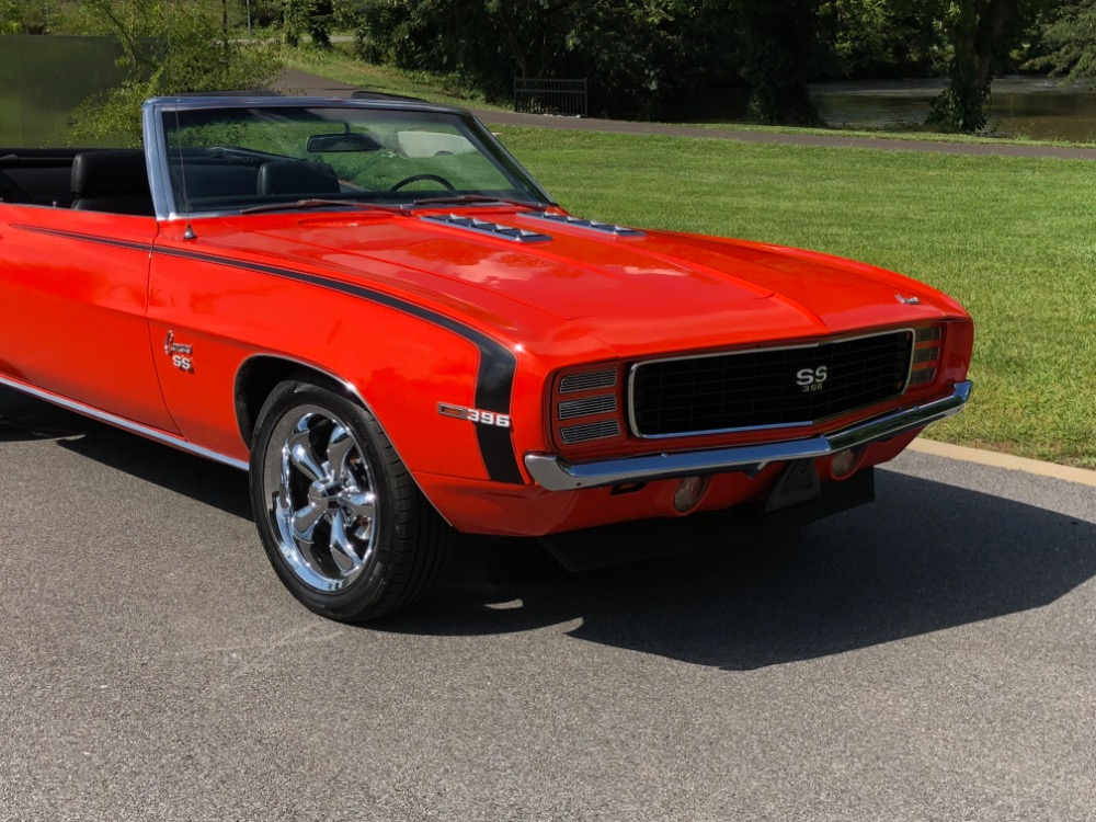 Used 1969 Chevrolet Camaro -RS/SS-Trim X11-Factory Code 72-Hugger Orange Convertible-SEE VIDEO | Mundelein, IL