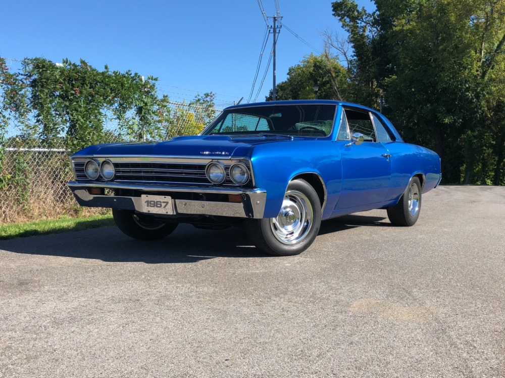 Used 1967 Chevrolet Chevelle -NEW PAINT-FRESH ENGINE-RELIABLE MUSCLE CAR-SEE VIDEO | Mundelein, IL