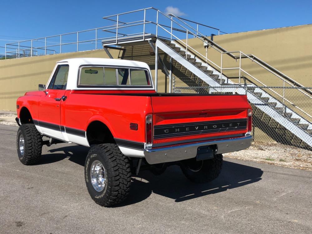 Used 1972 Chevrolet Pickup -K10-SWB HUGGER ORANGE 4x4-FRAME OFF RESTORED-SHORT BED- | Mundelein, IL